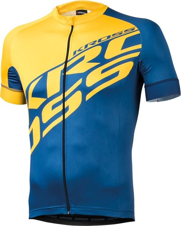 Kross Rubble Jersey Yellow Blue XL