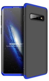GKK 360 Protection Case For Samsung Galaxy S10 Black/Blue