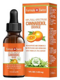 Formula Swiss Cannabidiol Orange Full Spectrum 10ml 10%