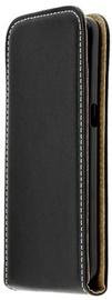 Forcell Flexi Vertical Slim Flip Case For Alcatel Idol 5 Black