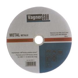Disks tērauda griešanai Vagner SDH 180x1,6x22,23mm