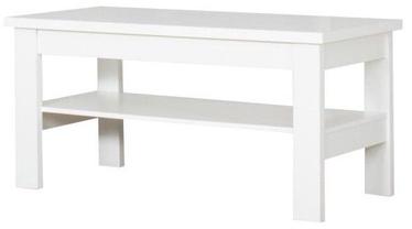 Kafijas galdiņš Bodzio S39 White, 1200x600x590 mm