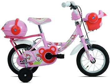 Детский велосипед Carratt Parrot 9700, розовый, 14″