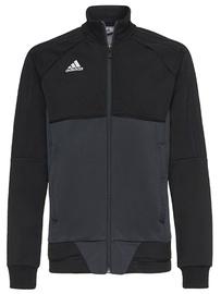 Adidas Tiro 17 Training Jacket JR AY2876 Black Gray 140cm