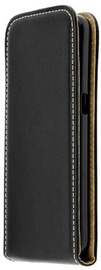 Forcell Flexi Vertical Slim Flip Case For LG K8 2017 Black