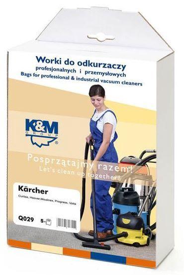 K&M Q029.A Vacuum Cleaner 5 Bags