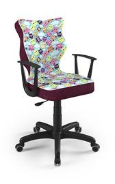 Bērnu krēsls Entelo Norm ST32, melna, 370 mm x 1010 mm