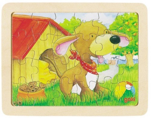 Koka puzle Goki Animals II 57807, 24 gab.