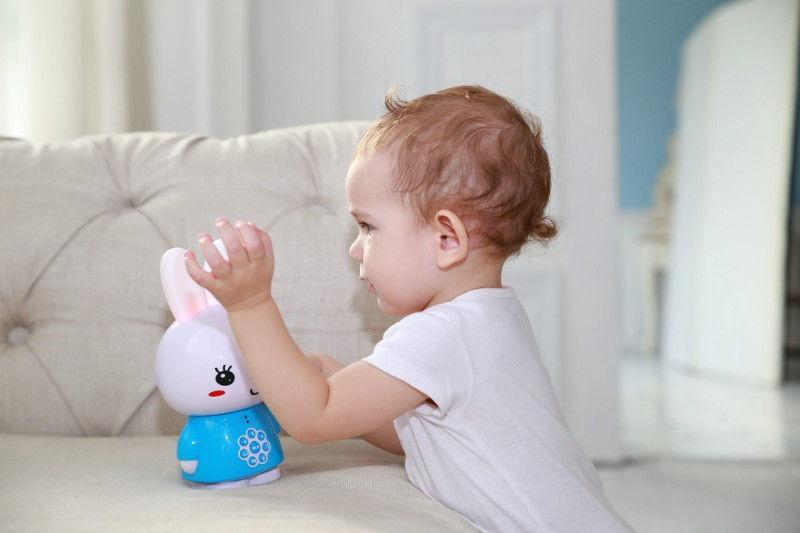 Interaktīva rotaļlieta Alilo Honey Bunny G6 Red, EN