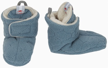 Lodger Fleece Booties BotAnimal Ocean 6-12m
