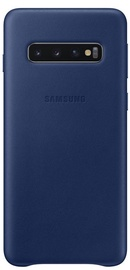Samsung Leather Cover For Samsung Galaxy S10 Navy