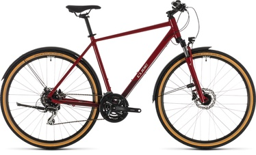 """Cube Nature Allroad 58 28"""" Red Grey 20"""