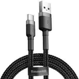 Baseus Cafule USB To USB Type-C Cable 2m Black/Grey