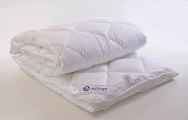 Пуховое одеяло Merkys Pelenė, 205 см x 140 см, белый