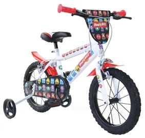 """Velosipēds Bimbo Bike 77325 14"""" White Red"""