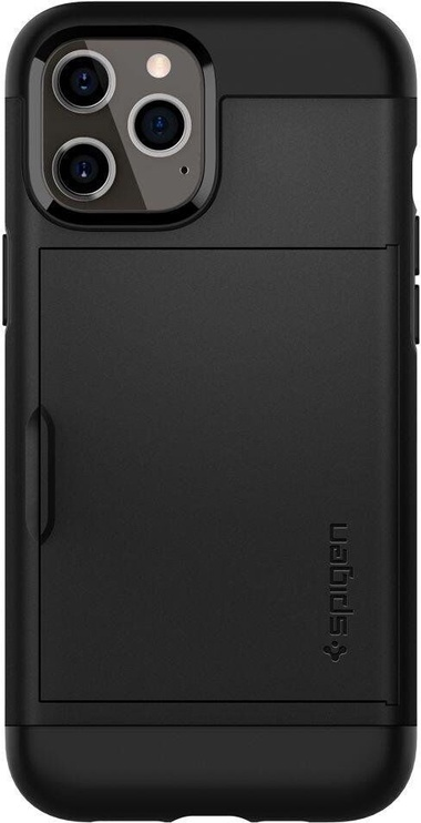 Spigen Slim Armor Cs Back Case For Apple iPhone 12 Pro Max Black