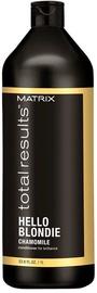 Matrix Total Results Hello Blondie Chamomile Conditioner 1000ml