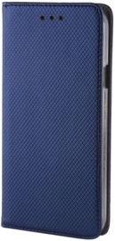 Forever Smart Magnetic Fix Book Case For LG K8 2017 Dark Blue