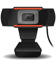Web kamera, melna/oranža, 1080p