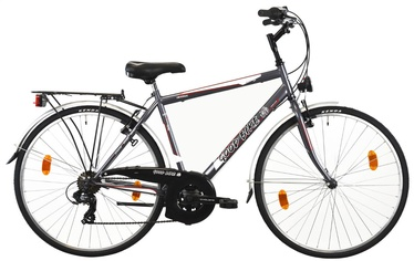 "Velosipēds Bottari Good Bike Oxford, pelēka, 19.5"", 28"""