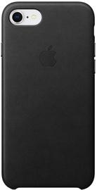 Чехол Apple Leather Case For Apple iPhone 7 Plus/8 Plus, черный (поврежденная упаковка)