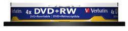 Verbatim DVD+R SP 4X 10P