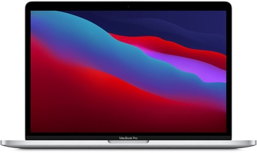 Ноутбук Apple MacBook Pro Retina with Touch Bar / M1 / ENG / Silver, 8GB/256GB, 13.3″