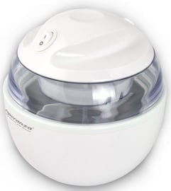 Esperanza Vanilla EKI001 Ice Cream Maker White