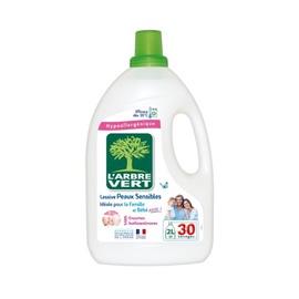 Veļas mazgāšanas līdzeklis Larbre Vert Sensitive, 2 l