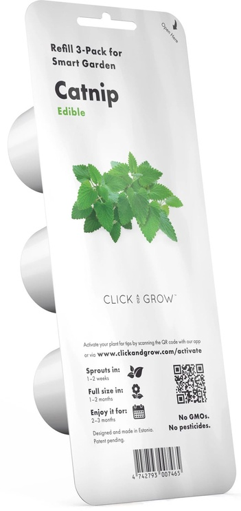 Click & Grow Smart Home Catnip Refill 3-Pack