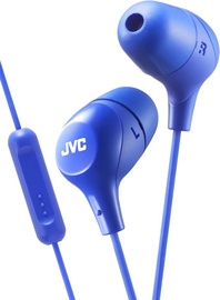 Austiņas JVC HA-FX38M Blue