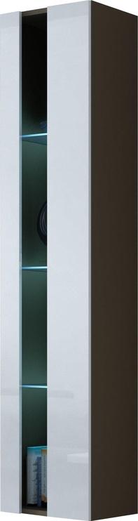 Cama Meble Vigo New Shelf Unit Latte/White Gloss