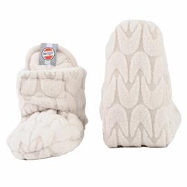 Шлепанцы Lodger Empire Fleece, кремовый, 3-6 месяцев, 2 шт.
