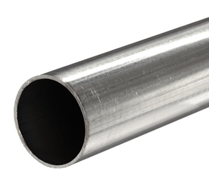 Metal Round Pipe D32 200cm Black