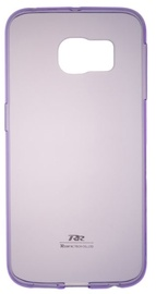 Roar Ultra Thin Back Case For Samsung Galaxy Grand Prime Transparent/Violet