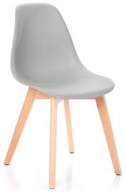 Ēdamistabas krēsls Homede Mirano Light Grey, 4 gab.