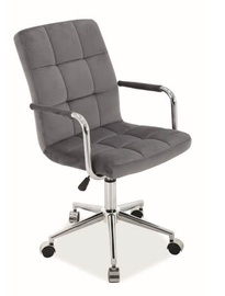 Signal Meble Q-022 Velvet Chair Grey
