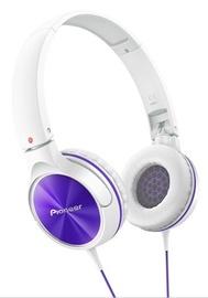 Austiņas Pioneer SE-MJ522-V White/Purple