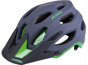 Alpina Sports Carapax 52-57 Gray/Green