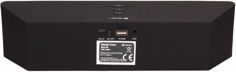 Bezvadu skaļrunis Tracer Brix Black, 6 W