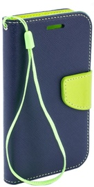TakeMe Fancy Diary Bookstand Case For Samsung Galaxy A20e Blue/Light Green