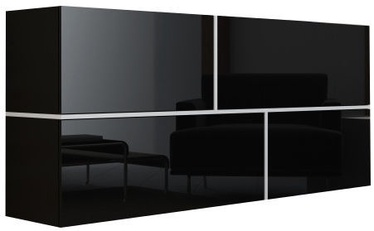 Комод Cama Meble Goya Black, 170x40x80 см