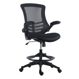 Home4you Tribecca Office High Working Chair Black