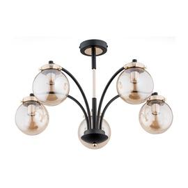 Lampa griestu Alfa Kula 25545, 5X60W, E14