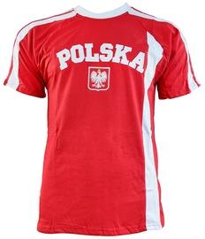 Футболка Marba Sport Poland Replica Cotton T-shirt Red L