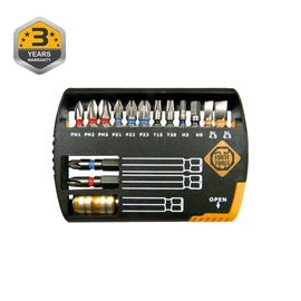 Набор бит для шуруповерта Forte tools BT15-00, 15 pcs.