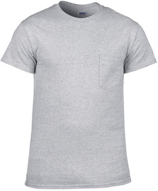 T-krekls Gildan Cotton T-Shirt Grey XL