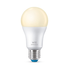 Spuldze WiZ 929002450202, led, E27, 8 W, 806 lm, silti balta