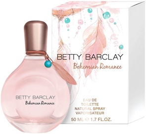 Tualetes ūdens Betty Barclay Bohemian Romance 50ml EDT
