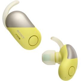 Austiņas Sony WF-SP700N/Y Yellow, bezvadu